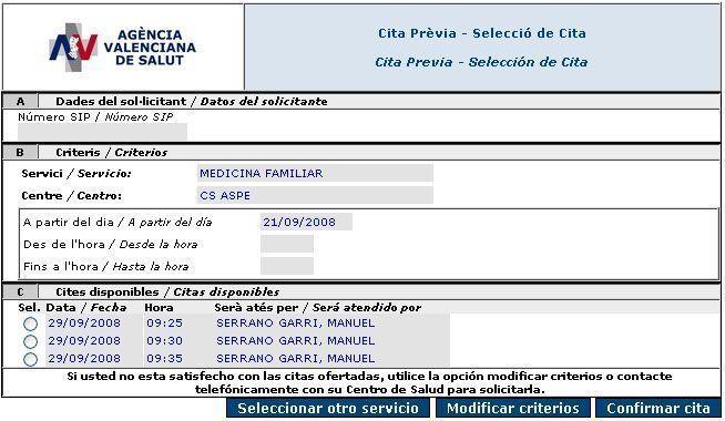 Centro Salud Aspe