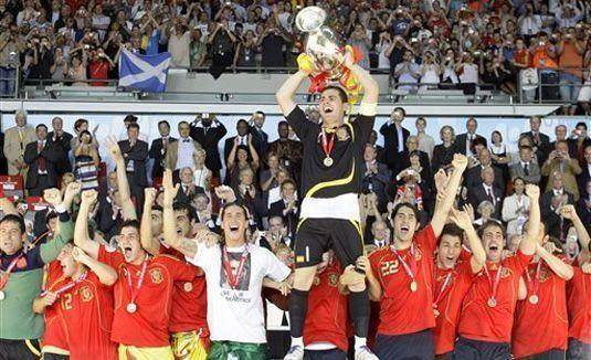 España - Campeones Eurocopa 2008