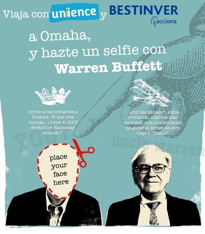 Ayúdame a cumplir mi sueño: <br /></noscript>Viajar a Omaha y conocer a Warren Buffett en persona