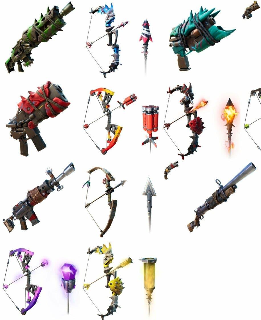 Armas del fortnite