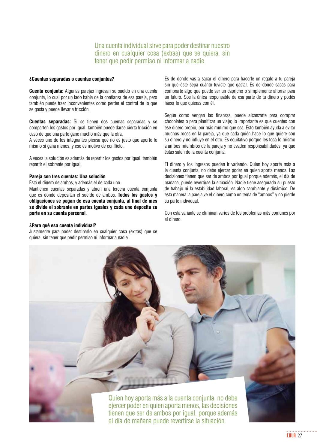 ¿Cómo llevar las cuentas en pareja? ¿Conjuntas o separadas?